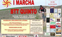 Quinto Racing Team organiza una gran marcha BTT