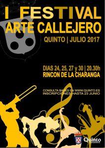 CartelIFestivalArteCallejero2017Quinto