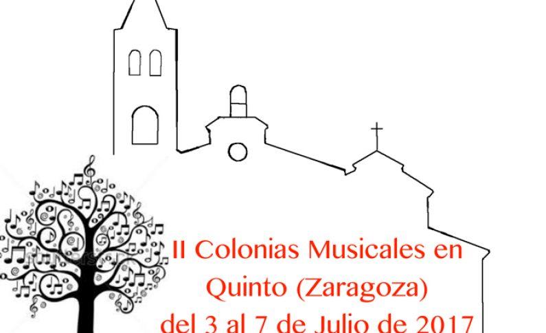 II Colonias Musicales en Quinto