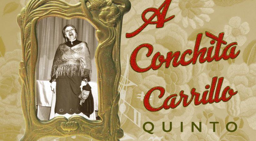 A Conchita Carrillo. Su pueblo le rinde homenaje.