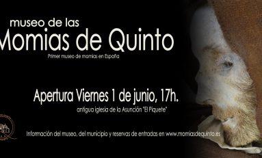 El museo de las Momias de Quinto abre el 1 de junio