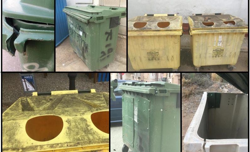 La Comarca recoge quejas por el deficiente servicio de recogida de basura