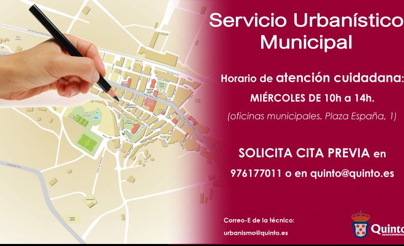 Ampliado el servicio urbanistico municipal